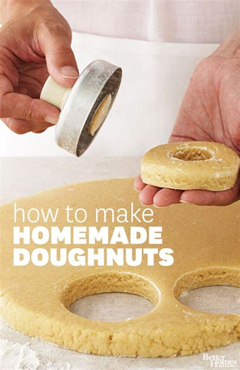 how to make dougnuts how to make doughnuts