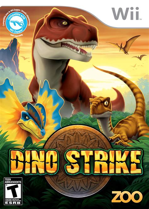 dino strike wii games zoo nintendo ds game cinemablend dinosaur hunting shooting dinos announces q1 line gaming shooter ago years
