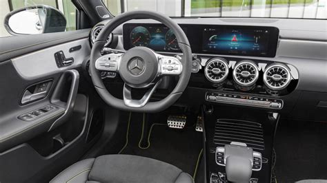 This will be the interior of the. Coming to America: Mercedes-Benz Unveils the New A-Class