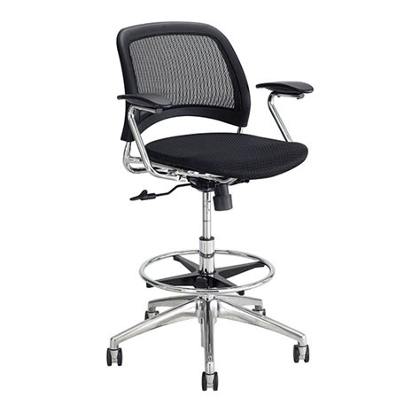 officemax extended height office chair reve mesh extended height chair safco schoolsin