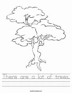 There Are A Lot Of Trees Worksheet