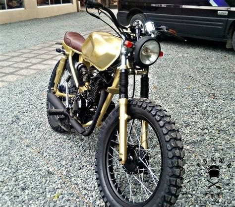 Bajaj Ct100 Modified Bike Images by How To Modify Bajaj Ct100 Into A Cafe Racer How Much