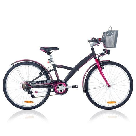 si e decathlon vélo enfant vtc 24 pouces nature decathlon