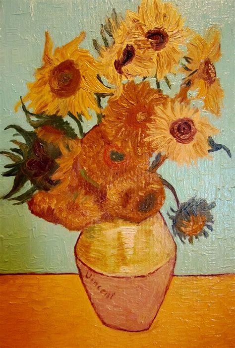 i fiori di gogh vaso di girasoli gogh gai giovani artisti italiani
