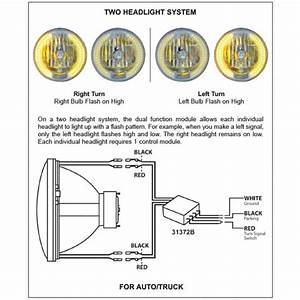35 United Pacific Headlights Wiring Diagram