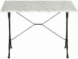 Table De Travail Marbre : table rectangulaire en marbre et m tal noir java vente ~ Zukunftsfamilie.com Idées de Décoration