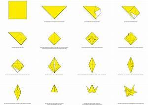 Origami Kranich Anleitung : origami kranich origami papierbasteleien pinterest origami ~ Frokenaadalensverden.com Haus und Dekorationen