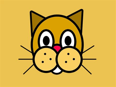 draw cartoon animal faces  steps  pictures