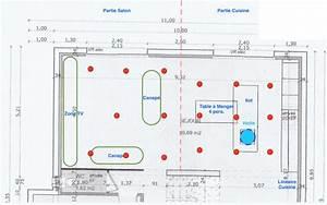 Repartition Spot Led Plafond : avis emplacement spots pour pi ce de vie 9 messages ~ Melissatoandfro.com Idées de Décoration