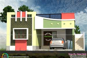 Home Design Gallery - small tamilnadu style home design kerala home design and floor plans
