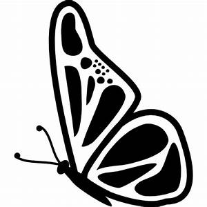 Butterfly side view Icons | Free Download