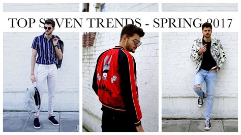 Top Seven Trends  Spring 2017 Youtube