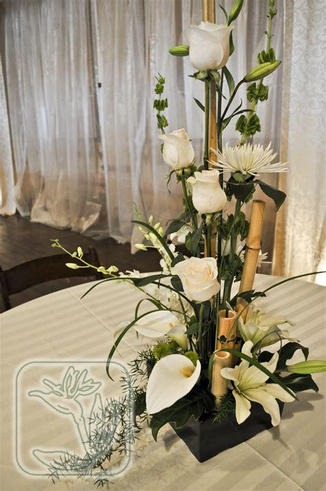 utah weddingevent dinner table centerpiece white