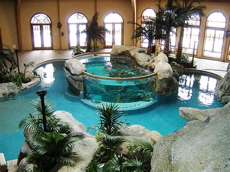 Indoor Pool : Ridiculously Amazing Modern Indoor Pools
