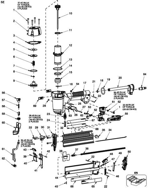 Porter Cable Nail Gun 18 Gauge Parts - NailsTip