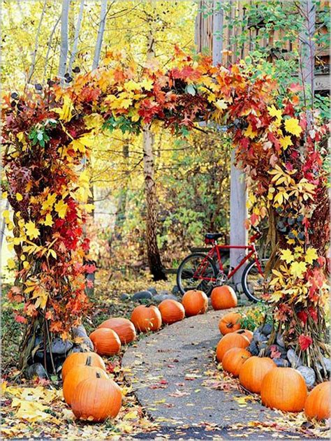 Fall Wedding Arch Ideas For Rustic Deer Pearl