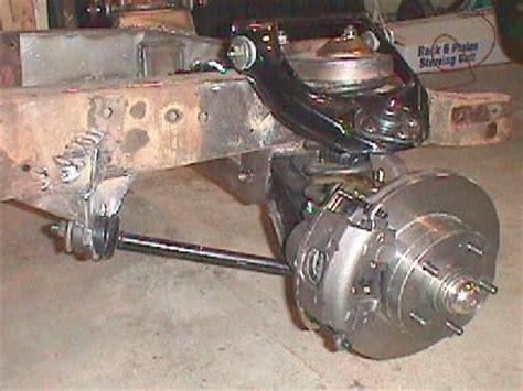 mustang ii spindles  chevrolet rotors hot rod forum hotrodders bulletin board