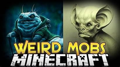 Minecraft Mobs Weird Mod Mods Creepy Armor