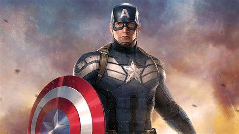 full hd wallpaper captain america hero art desktop