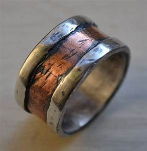 15 ideas of funky mens wedding rings for Mens unique wedding rings