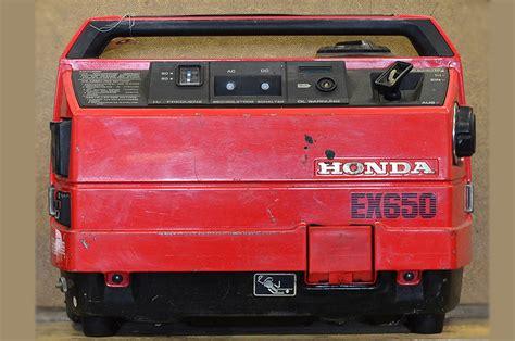 Honda EX650   Volvo Penta