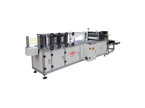 automatic disposable shoe cover making machine lihan machinery etw international
