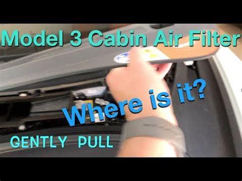 View Tesla Model 3 Air Filter Gif