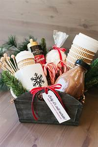 The, Perfect, Hot, Cocoa, Gift, Basket