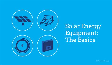 Solar Energy Equipment: Shopper's List & Typical Costs ...