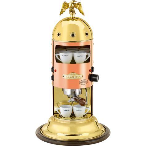 elektra espresso machine elektra mini verticale brass copper espresso machines