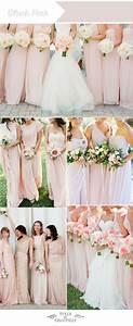 top ten wedding colors for summer bridesmaid dresses 2016 With wedding color ideas for summer