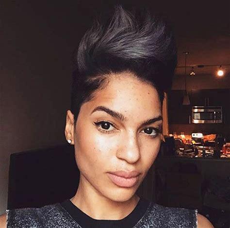 nice short hair ideas  black women short