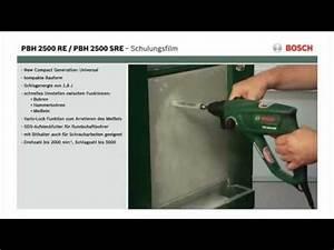 Bosch Pbh 2500 Sre : tutorial bohrhammer pbh 2500 sre von bosch youtube ~ Orissabook.com Haus und Dekorationen