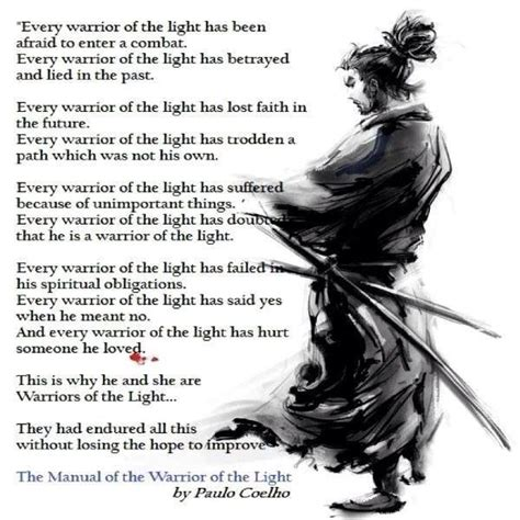 the warrior of light warrior of the light quotes like success