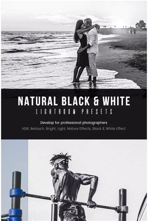 Looking for free lightroom presets to play with? Natural Black & White Lightroom presets download free .zip ...
