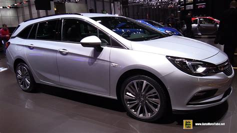 Opel Astra Wagon by 2017 Opel Astra Wagon Diesel Exterior And Interior