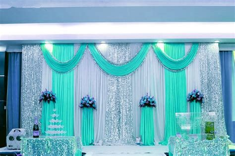 Express free shipping wedding stage backdrops decoration