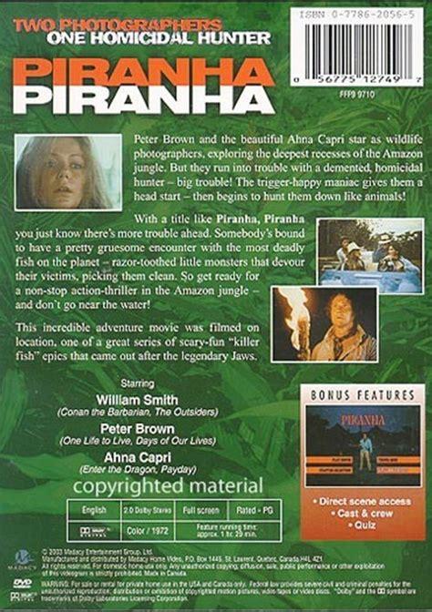 Piranha, Piranha (dvd 1972)  Dvd Empire