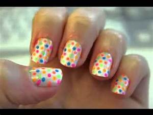 Easy nail art ideas for kids - YouTube