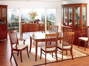 Amish breakfast nook sets furniture in solid wood Dining