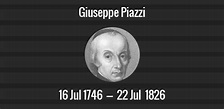 Giuseppe Piazzi death anniversary