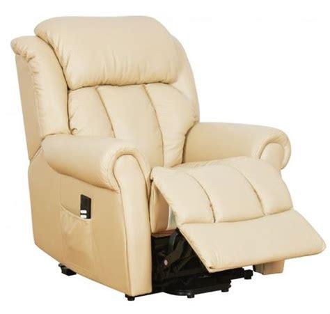 warminster dual motor leather riser recliner chair