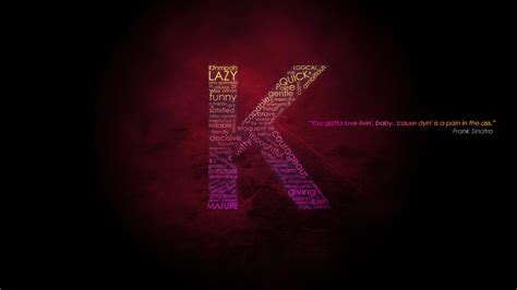 K Letter Wallpapers Hd