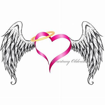Wings Angel Clip Tattoo Symbol Halo Stand