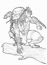 Predator Alien Coloring Deviantart Drawing Owl Xenomorph Drawings Aliens Ronniesolano Comic Tattoo Adult Helmet Chrisozfulton Colouring Printable Fiction Science Tracker sketch template