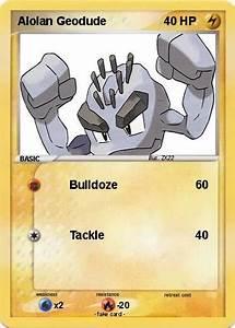 Pokémon Alolan Geodude - Bulldoze - My Pokemon Card