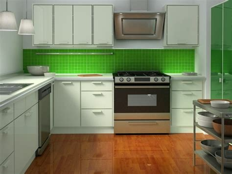 lime green kitchen tiles cuisine verte pour un int 233 rieur naturel et doux 7105