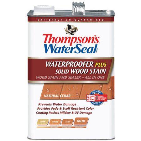 thompsons waterseal waterproofing stain solid  gal