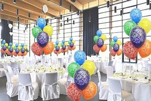 Dekoration 30 Geburtstag : ballonsupermarkt geburtstags midi set 1 50 geburtstagsluftballons 3 5 liter ~ Yasmunasinghe.com Haus und Dekorationen