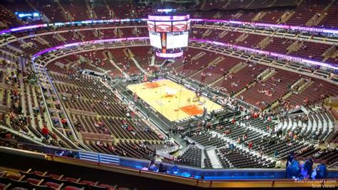 sports stadium review united center united center section 312 chicago bulls rateyourseats Pro